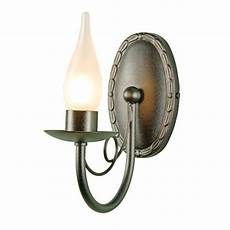 bathroom wall light traditional black candle style for peirod bathrooms