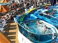 swimming pool panoramic shot carnival dream cruise video