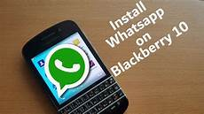how to get whatsapp blackberry 10 after june 2017