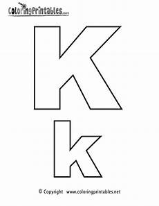 capital letter k worksheets 24364 alphabet letter k coloring page a free coloring printable lettering alphabet
