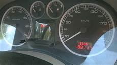 peugeot 307 wyłączające się kontrolki podczas uruchamiania silnika