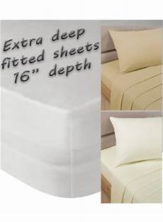 extra deep fitted bed sheets uk extra deep fitted sheet sheets bedding linen4less co uk