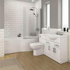 Bathroom Suites Ideas Alaska Bathroom Suite With B Shaped Shower Bath