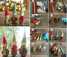 Wichtel Basteln Tannenzapfen - basteln mit tannenzapfen zum advent wichtel zwerge elfen