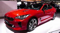 kia stinger 2017 new 2018 kia stinger gt paint exterior tour 2017 la auto show los angeles ca