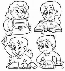 Malvorlagen Grundschule Zum Ausdrucken Kostenlose Malvorlage Schule Grundschulkinder Zum