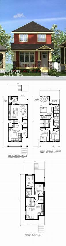 house plans with basement apartments craftsman walker 1656 with suite small house plans