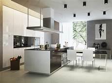 zweizeilige küche modern die zweizeilige k 252 che moderne k 252 chenform mit viel platz