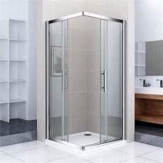 Duschkabine Glas Eckeinstieg - duschkabine duschabtrennung eckeinstieg schiebet 252 r glas