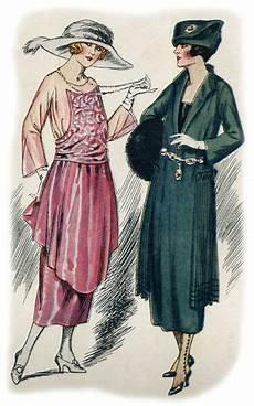 1920 gravure de mode femmes en 1900