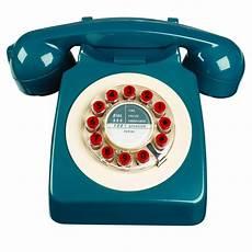 746 phone retro design petrol blue