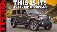 jeep wrangler jl 2018 the 2018 jeep wrangler jl breaks cover and here are the