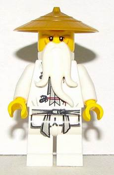 Lego Ninjago Sensei Wu Lego Ninjago Sensei Wu Minifigure With Gold Hat For Sale