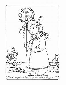 Ausmalbilder Ostern Biblisch Easter Blessings Coloring Page Bible Coloring Pages