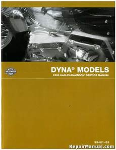 Harley Davidson Factory Service Manual by 2005 Harley Davidson Dyna Motorcycle Service Manual