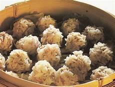 cucinare riso al vapore la cucina cinese polpettine di maiale al vapore