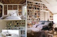 libreria per da letto book wall quando i libri arredano