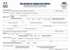 Certificat De Cession Cerfa 13754 Gratuit Pour La Vente