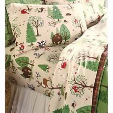 The 8 Best Flannel Sheets Woodland Friends Flannel Sheet Set In Twin Walmart Com
