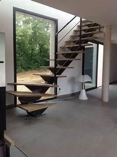 escalier m 233 tallique quart tournant 224 verg 232 ze escalier