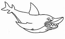 ausmalbilder f 252 r kinder haifisch 8