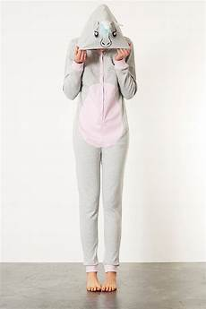 lyst topshop unicorn onesie in gray