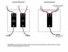 hallway light wiring diagram need help with the wiring of hallway landing lights