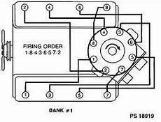 I Need A 454 Chevy Engine Firing Order Diagram Fixya