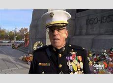 Despite death threats, retired US Marine stands guard at