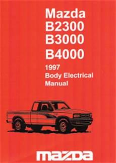 1997 mazda b4000 fuse box 1997 mazda b2300 b3000 b4000 electrical troubleshooting manual