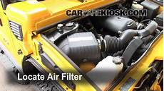how to fix cars 2007 hummer h2 engine control air filter how to 2003 2009 hummer h2 2003 hummer h2 6 0l v8