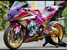 Modifikasi Motor 250 by Modifikasi Motor Kawasaki 250 Airbrush Keren