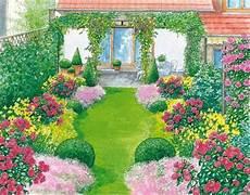 Ein Reihenhausgarten Aus Der Reihe Schmaler Garten