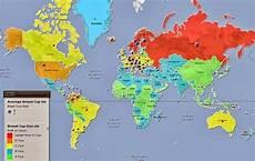 6 Gambar Peta Dunia Yang Tidak Akan Diajar Di Sekolah