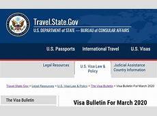 current visa bulletin 2020