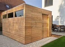 Design Gartenhaus Mit L 228 Rchenholz Und Schiebet 252 R Als