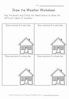 weather worksheet for kinder weather worksheets