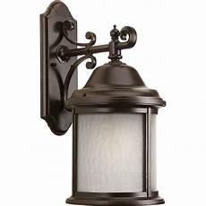 progress lighting cypress collection 1 light forged bronze motion sensing outdoor wall lantern