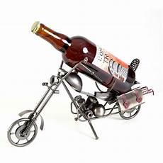 porte bouteille metal moto ludi vin vinolem