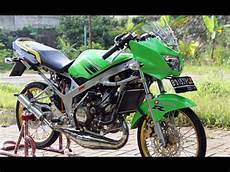 Modifikasi R Jari Jari by Modifikasi Motor Kawasaki R Modif Velg Jari