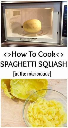 how to cook spaghetti squash in the microwave mom to mom