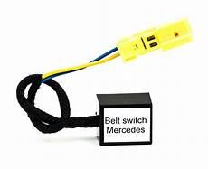 mercedes e class w211 front passenger seat mat occupancy sensor occupied recognition sensor