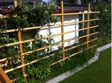 Sichtschutz Rankgitter Aus Holz F 252 R Den Garten Selber