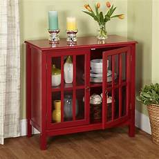 storage furniture for kitchen storage cabinet w 2 door 1 adjustable shelf wood