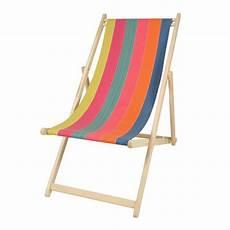 chilienne en h 234 tre toile en coton amovible cette chaise