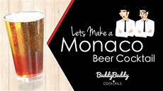 monaco beer cocktail recipe by buddybuddy cocktails youtube