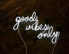 good vibes only mounted neon sign ready made by