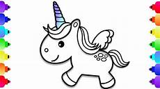 how to draw a baby unicorn unicorn coloring pages for