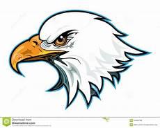 profil principal d aigle illustration de vecteur