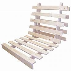 Futonbett Selber Bauen - wooden futon bed base wood sofabed seat frame in 3 sizes